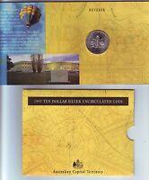 1993 ACT Australian Capital Territory Australia $10 UNC Silver Coin