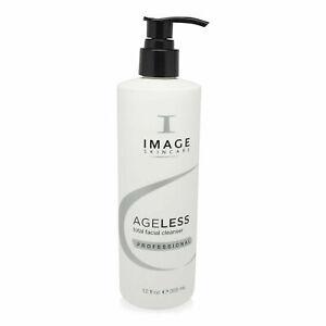 IMAGE Skincare Ageless Total Facial Cleanser - 12 oz / 355 ml SALON EXP 12/2022
