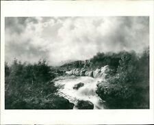 1974 Press Photo Landscape William Charles Anthony Frerichs George Finch 8x10