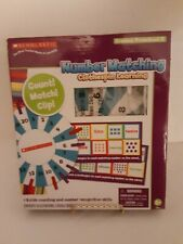 SCHOLASTIC Number Matching Clothespin Learning Grades: Preschool-K