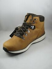 """Men's Boots Wolverine Bodi 5"""" W30193 Tan Work Soft Toe Red/Brown Laces Size 9"""