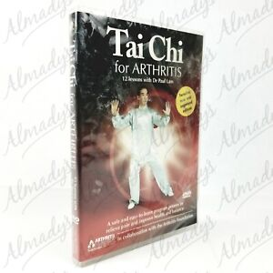 Tai Chi for Arthritis DVD - 12 Lessons with Dr. Paul Lam 2-Disc New and Improved