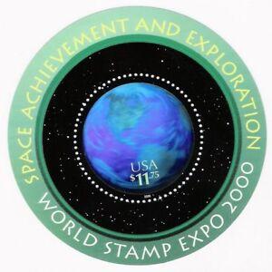 #3412 SPACE ACHIEVEMENT & EXPLORATION HOLOGRAM MNH