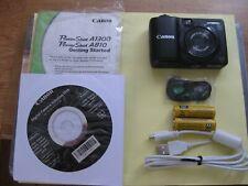 Canon PowerShot A1300 16.0MP Digital Camera - Black