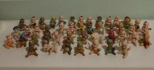 Lot of 46 Paciocchini MONELLINI Babies Small Figures Dolls