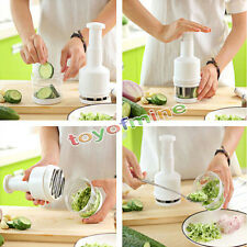 Vegetable Garlic Onion Pressing Cutter Slicer Peeler Dicer Chopper Kitchen