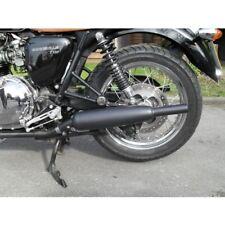 Triumph Bonneville / T100 tubo de escape Norman Hyde toga Clásico cromado HBS