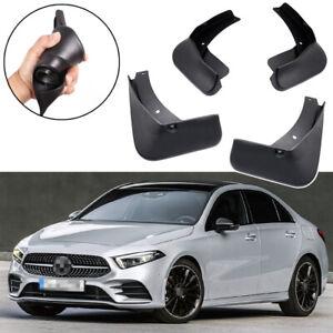 Car Mud Flaps Splash Guards Fender Mudguard for Mercedes A-Class AMG-Line Saloon