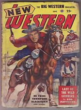 New Western Sep 1948 Pulp Rod Patterson William Corcoran Van Cort Tom Blackburn