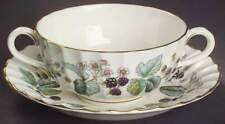 Royal Worcester LAVINIA CREAM (BONE) Cream Soup & Saucer 2311033