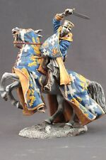Tin toy soldiers ELITE painted 90 mm Medieval knight on horseback