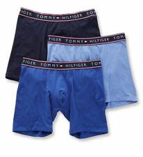 Tommy Hilfiger Men's Underwear Cotton Stretch Boxer Persian Blue Size Medium