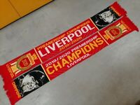 Liverpool 2020 Premier League Champions Scarf. A DIFFERENT DESIGN ON EACH SIDE
