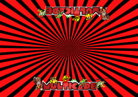 "5P0865 5 PACK MINI Design DK Arcade Classics Side Art  Multicade  8/"" x 6.5/"""