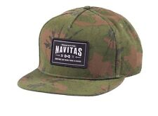 Navitas Camo MFG Snapback Cap Hat NEW Carp Fishing