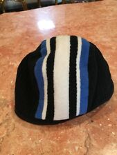 Boy's Black AND BLUE AND WHITE Fleece Soft GAP KIDS Hat Size S/M