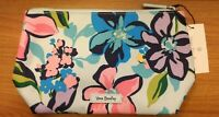 NWT Vera Bradley Lighten Up Large Cosmetic Travel Zip Case Bag Marian Floral
