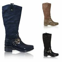 WOMENS WELLIES WELLINGTON RAIN KNEE HIGH LADIES WELLY BOOTS SHOES SIZE
