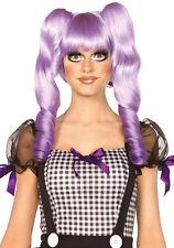 Doll Perücke Deluxe violett NEU - Karneval Fasching Perücke Haare