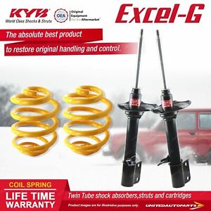 Rear KYB EXCEL-G Shock Absorbers Lowered King Springs for SUBARU Impreza GC3 5 7