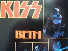 "KISS 45 RPM 7"" - Beth UNPLAYED W/GERMANY SLEEVE"