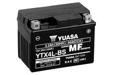 BATTERIA ORIGINALE YUASA YTX4L-BS 12V PER YAMAHA XT600KH 600 94-95 +ACIDO