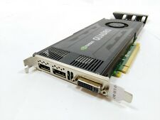 HP 700104-001 QUADRO k4000 3gb PCI-E Dual Display Port Scheda Grafica