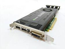 HP 700104-001 QUADRO k4000 3gb PCI-E Dual Display Port Scheda Grafica