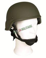 Elmetto modello MICH Americano in Fibra di Vetro MilTec Verde