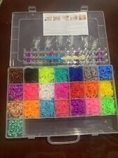 Knitting Looms Boards Loom Band Kit 5600 Rubber Bands 22 Colors
