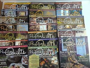 Lot of 20 PRIMITIVE QUILTS AND PROJECTS Books Quilting, Rug Hooking & Stitching