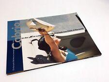 2001 Volkswagen Cabrio Brochure