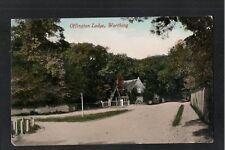 L@@K   Offington Lodge Worthing Sussex 1914 Postcard