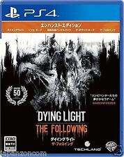 Used PS4 Dying Light: The Following   SONY PLAYSTATION 4  JAPANESE  IMPORT