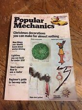 1972 - DEC. Popular Mechanics - Guide to Two-Way Radio-How / How to use a Router
