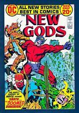 DC Comics New Gods Volume 1 #10 1972 VF 8.0 Kirby Art LI-01