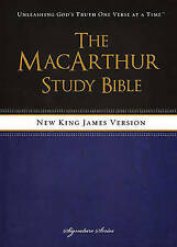 NEW NKJV, The MacArthur Study Bible, Hardcover: Revised and   Updated Edition