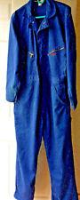 Vtg Dickies Shop Coat Work Auto Shop Coveralls Overalls Blue sz 44 M