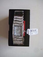 Rhino by marc ecko E8125MV Silver Tone Crystal Accented Women's Watch $110