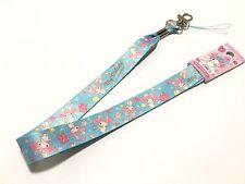 My Melody Sanrio Neck Strap Lanyard Key Holder Key Ring Kawaii Japan Blue