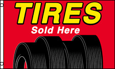 3x5 ft TIRES SOLD HERE Flag Store Garage Business Advertising Banner Sign rf