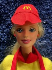 Mattel Barbie MC DONALDS  Replacement Clothes Hat Shirt Apron