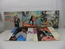 JAMES BOND 007 - LOT OF 5 LASER DISC - THE ALL ROGER MOORE COLLECTION
