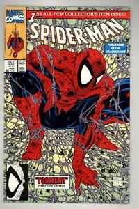 Spider-Man 1 NM+ 9.6 Green McFarlane Marvel Comics 1990