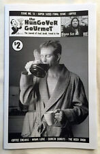 HUNGOVER GOURMET #11 Food Drink Zine Coffee Wawa Dunkin Donuts White Castle