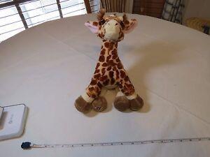 GANZ Webkinz giraffe HM403 bean stuffed animal plush NO CODE retired zoo April