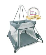 BabyHub SleepSpace new model in grey (PEBBLE) Travel Cot, tepee, mosquito net