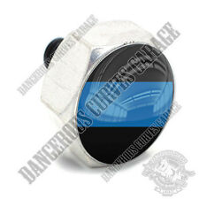Polished Billet Hex Air Cleaner Cover Bolt - Twin Cam Touring - BLUE LINE POLICE