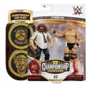 "WWE Championship Showdown Series 5 Figures Mankind Vs ""Stone Cold"" Steve Austin"