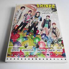 SHINee Replay JAPAN DEBUT PREMIUM First Ltd CD+DVD+PHOTOBOOK